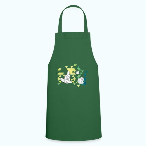 Geometric crystals - Cooking Apron