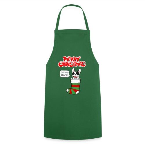Christmas Dinner Bulldog - Keukenschort