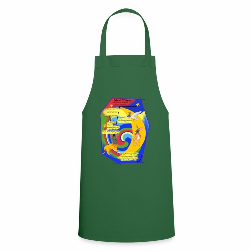 Drei Hasen (Christian Morgenstern) - Cooking Apron