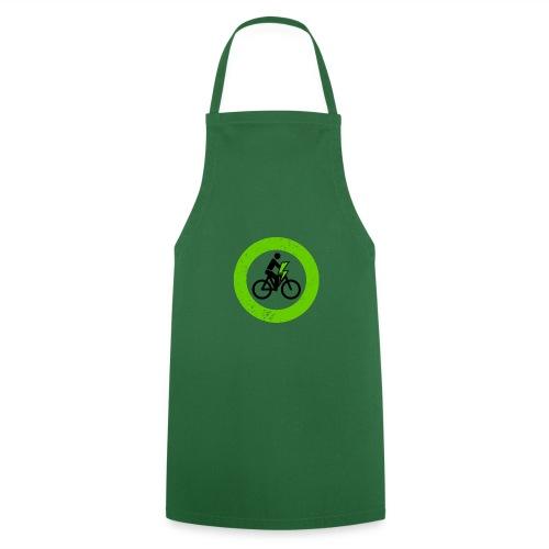 e Bike grün schwarz Schild Logo Emblem - Kochschürze