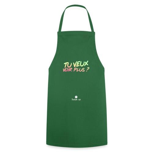 Swipe up ! - Tablier de cuisine