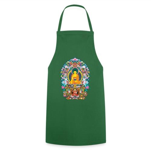 Buddha Shakyamuni Tsongkhapa - Fartuch kuchenny