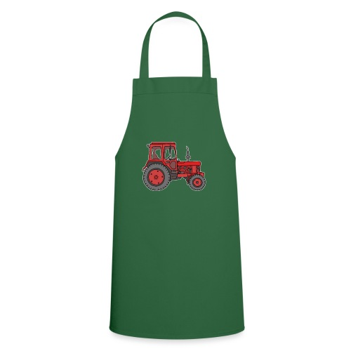 Roter Traktor / Trecker - Kochschürze