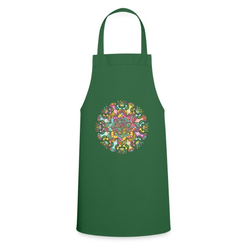 Mandala indien - Tablier de cuisine