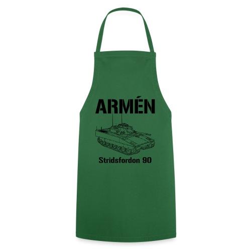 Armén Stridsfordon 9040 - Förkläde