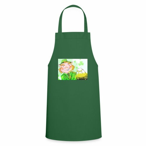 lenny the leprechaun - Cooking Apron