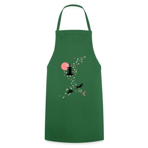 Kirschblüten Häschen hase bunny kaninchen langohr - Kochschürze