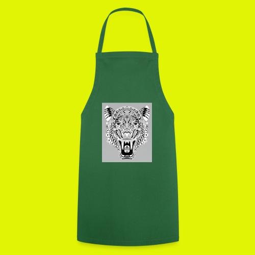 mandala tigre - Grembiule da cucina