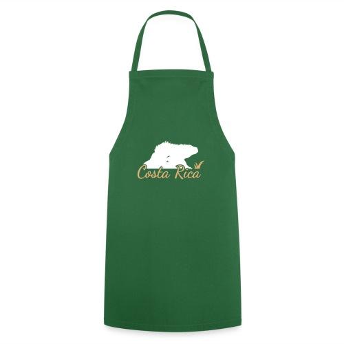 Echse CostaRica Green SVG - Kochschürze