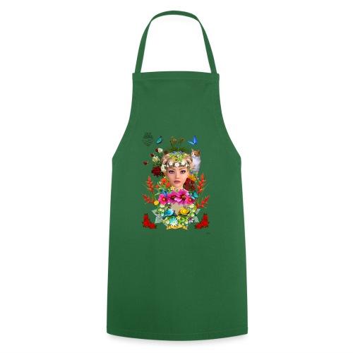 Lady spring -by- t-shirt chic et choc - Tablier de cuisine
