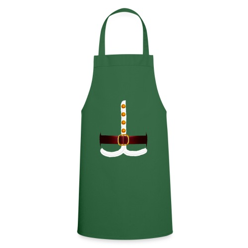 Regalo divertido del traje de Papá Noel para los amantes de Navidad - Delantal de cocina