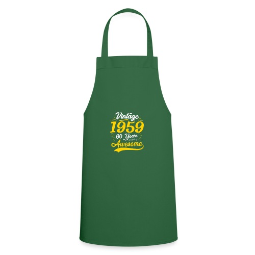 Vintage 1959 60th Birthday - Grembiule da cucina