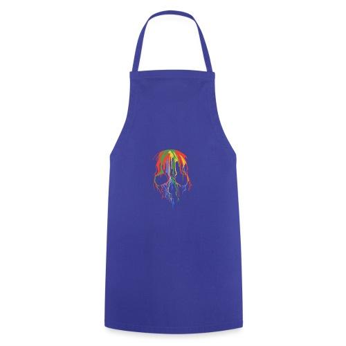 Skull and Colours - Delantal de cocina