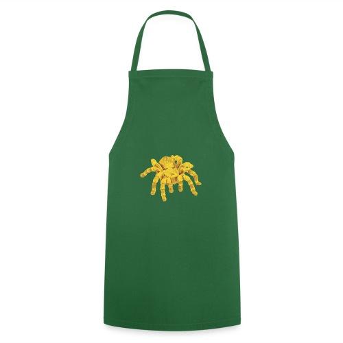 Spinne Gold - Kochschürze