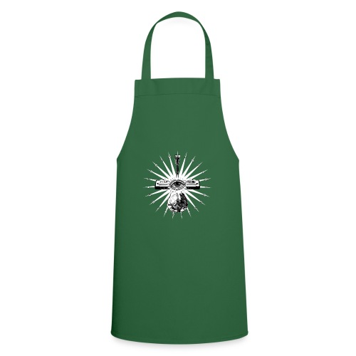 Blues Is The Truth - white star - Cooking Apron