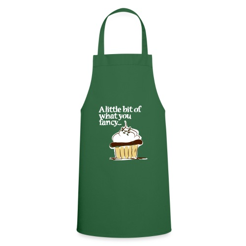 A little bit of what you fancy... a cup cake - Cooking Apron