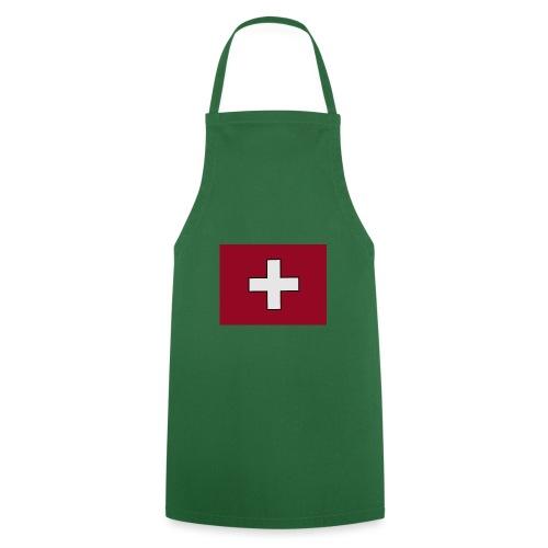 Swiss Flagge - Kochschürze
