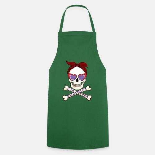 Calavera Feminista - Delantal de cocina