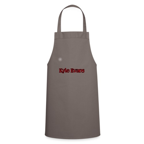 KYLE EVANS TEXT T-SHIRT - Cooking Apron
