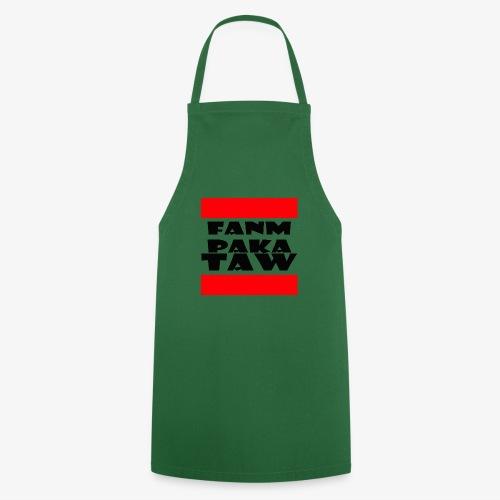 fanm paka taw noir - Tablier de cuisine