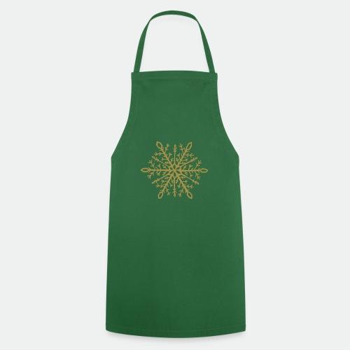 Snowflake mandala - Cooking Apron