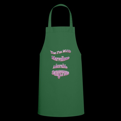 Yes I'm Mad (For Women) - Cooking Apron