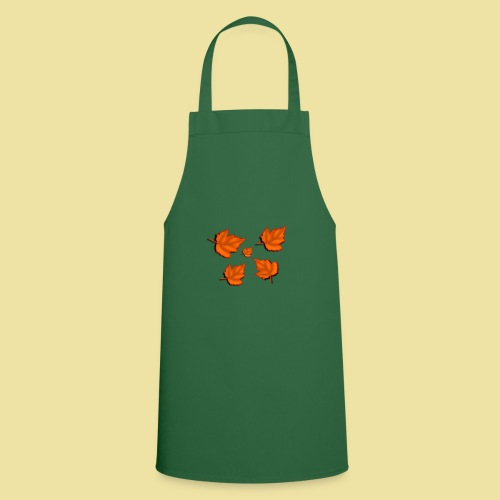 Herbstblätter - Kochschürze