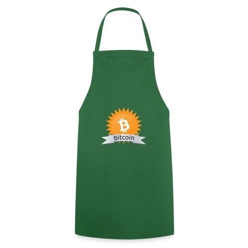 Bitcoin logo - Keukenschort