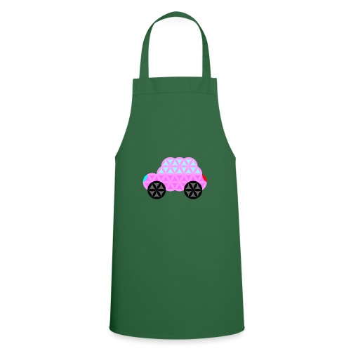 The Car Of Life - 01, Sacred Shapes, Pink. - Cooking Apron
