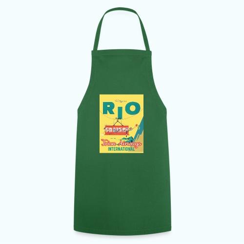Brasilien Vintage Reise Poster - Cooking Apron