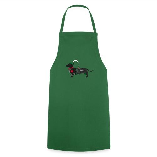 Dackel Jäger -minimal- Der Meister des Waldes - Kochschürze