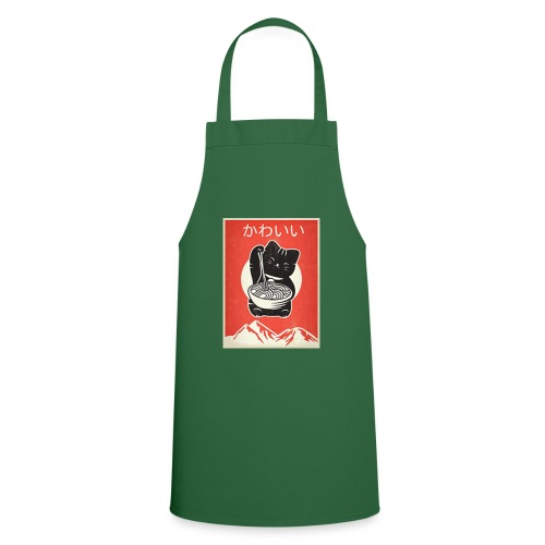 Kawaii Vintage Style Japenese Ramen Cat - Cooking Apron