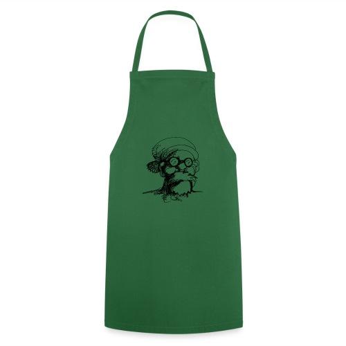 Santa Sketch - Cooking Apron