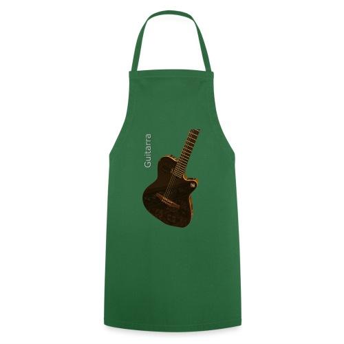 Guitarra inclinada - Delantal de cocina