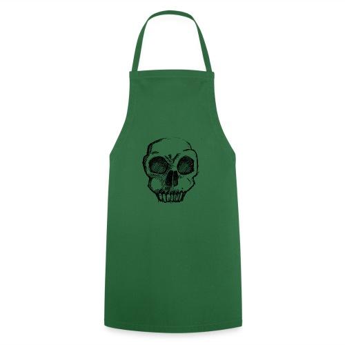 Skull sketch - Cooking Apron
