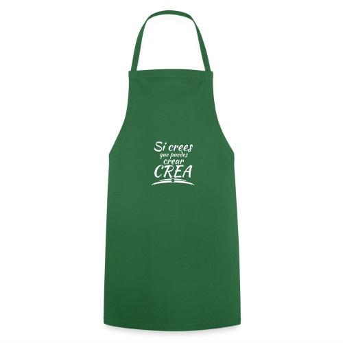 Ser creativo siempre - Delantal de cocina