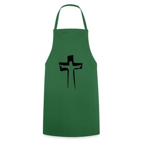 Abstrakt Jesus på korset - Förkläde