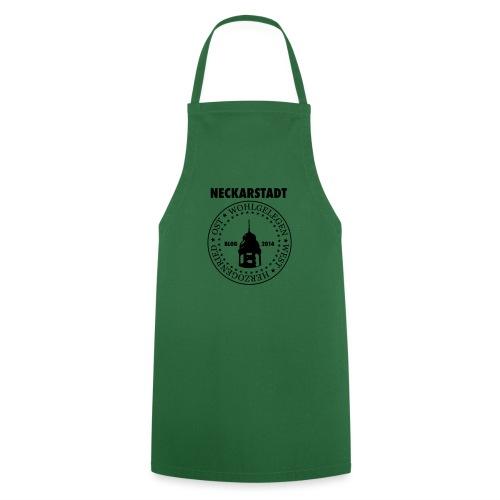 Neckarstadt Blog seit 2014 (Logo dunkel) - Kochschürze