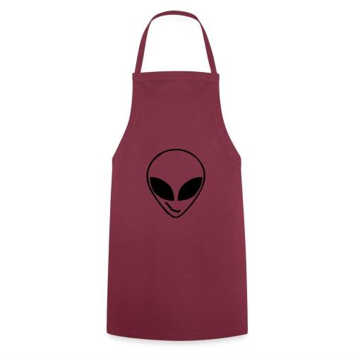 Alien simple Mask - Cooking Apron