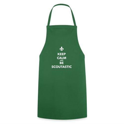 Keep calm and be scoutastic - Farbe frei wählbar - Kochschürze