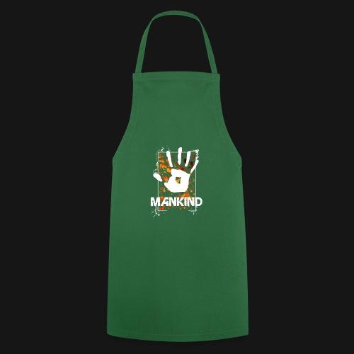 Mankind splatter design hand - Cooking Apron