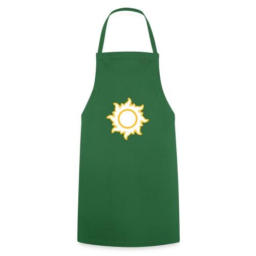 feurige Sonne sunshine Sommer summer Stern Star - Cooking Apron