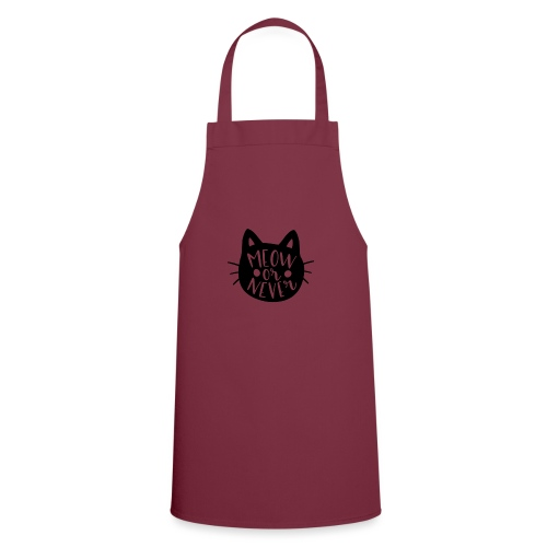 Cat Sayings: Meow or Never - Cooking Apron
