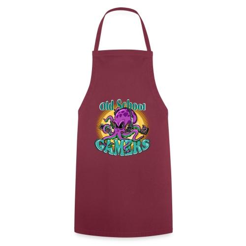 Old School Octopus Gamers - Delantal de cocina