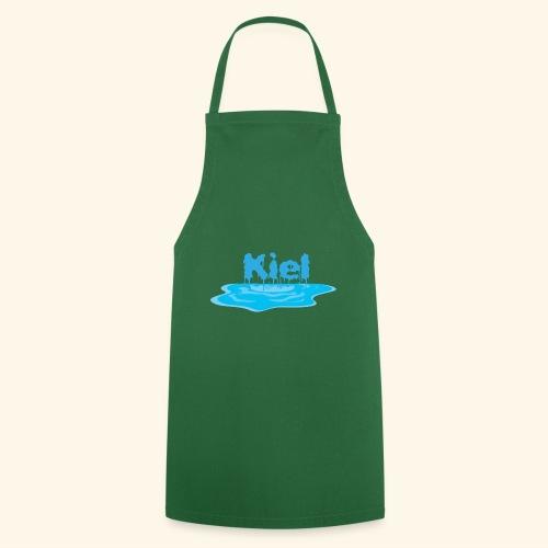 Kiel Tropfend Design Wasser Schrift - Kochschürze