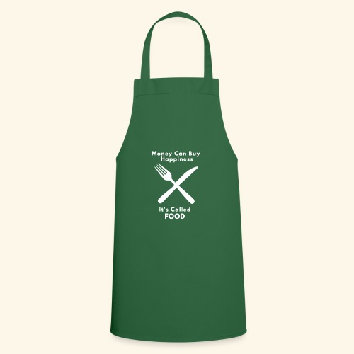 Money Can Buy Happiness It's Called FOOD - Cooking Apron