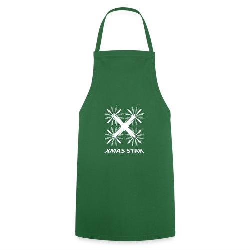 Nouvelle étoile de Noël (version blanche) - Tablier de cuisine