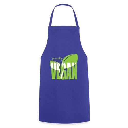 proudly vegan - Kochschürze