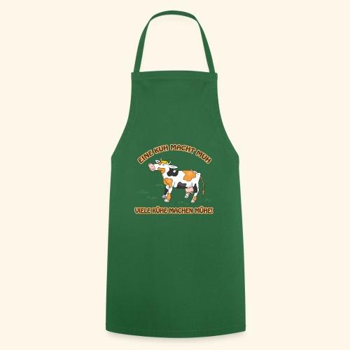 Eine Kuh macht MUH, viele Kühe machen Mühe! - Kochschürze