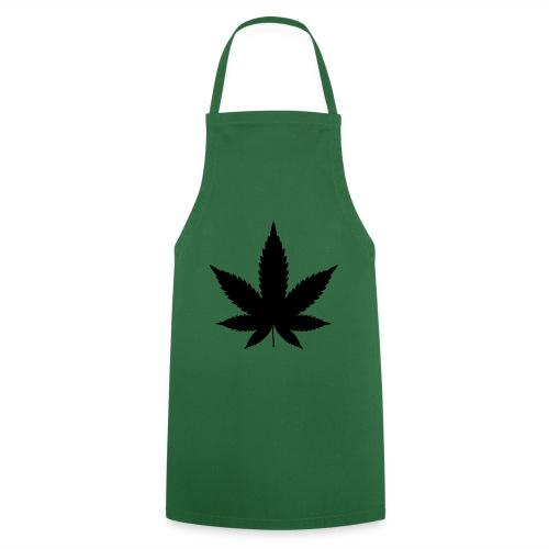 CannabisBlack - Kochschürze